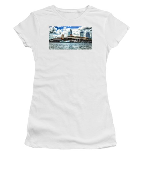 Arc Gloria In Port In Hdr Women's T-Shirt (Athletic Fit)
