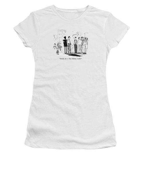Arnold, This Is Tina Feldman, Backlit Women's T-Shirt