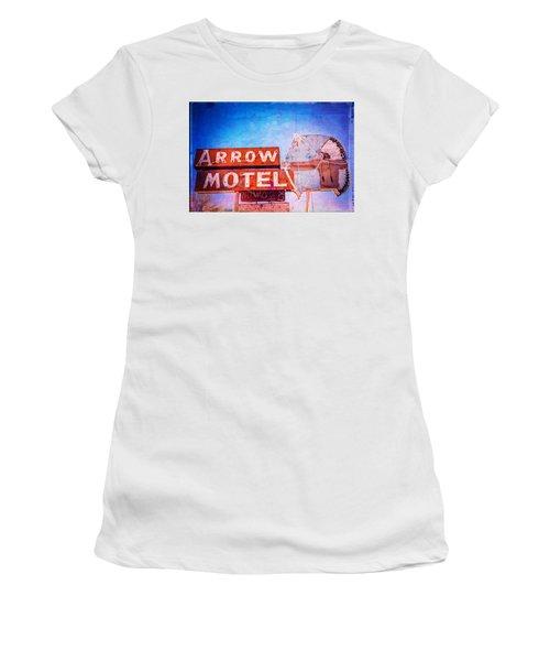 Arrow Motel Women's T-Shirt (Athletic Fit)