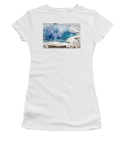 Artemisia Geyser Women's T-Shirt (Athletic Fit)