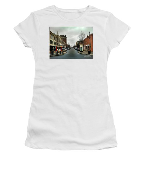 Asheville North Carolina Women's T-Shirt (Athletic Fit)