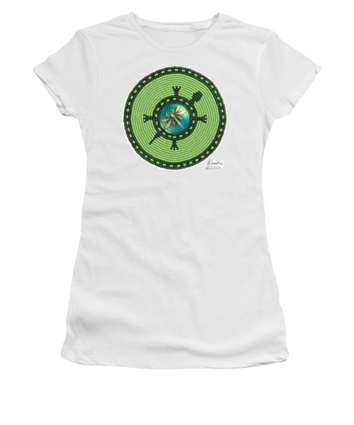 Ashlee's Dragonfly Turtle Women's T-Shirt