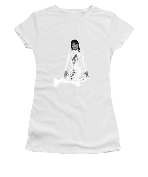 Asian Girl Women's T-Shirt (Athletic Fit)