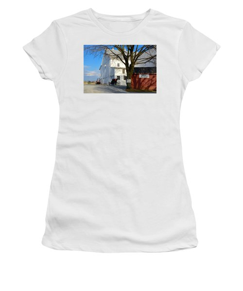 Ask For Eggs At House. Women's T-Shirt (Athletic Fit)