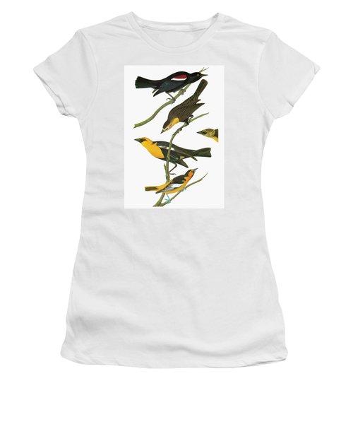 Audubon Blackbirds Women's T-Shirt