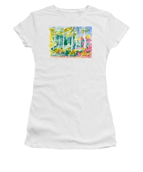 Autumn Aspen Women's T-Shirt