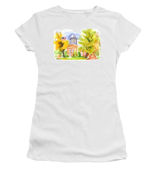Autumn At The Courthouse Women's T-Shirt
