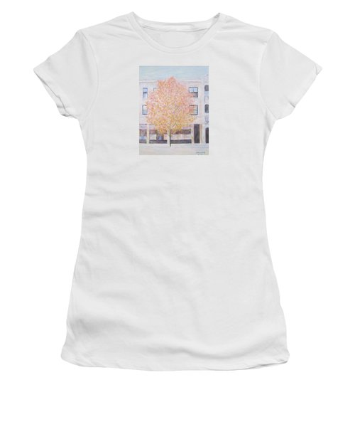 Autumn In Chicago Women's T-Shirt (Athletic Fit)