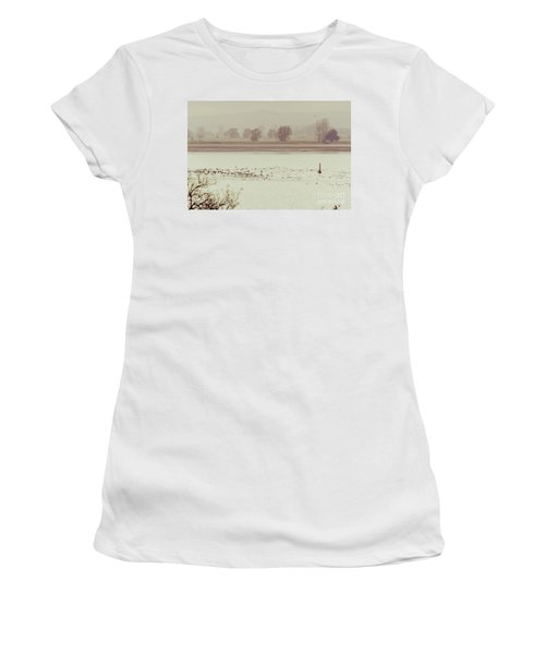 Autumnal Dreamland Iv Women's T-Shirt (Athletic Fit)