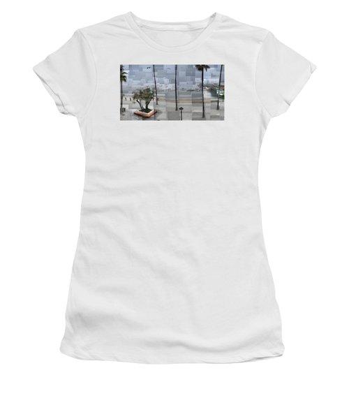 Avalon Fog Women's T-Shirt (Athletic Fit)