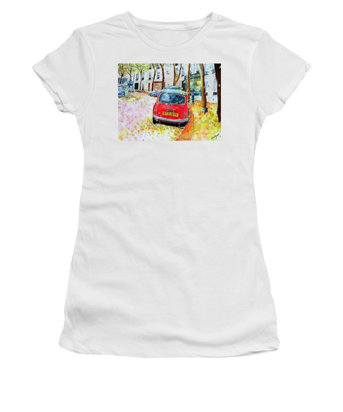 Avenue Junot In Autumn Women's T-Shirt