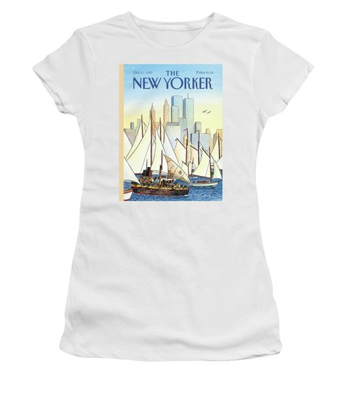 Back In The New World Women's T-Shirt