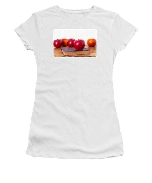 Back To School Apples Women's T-Shirt