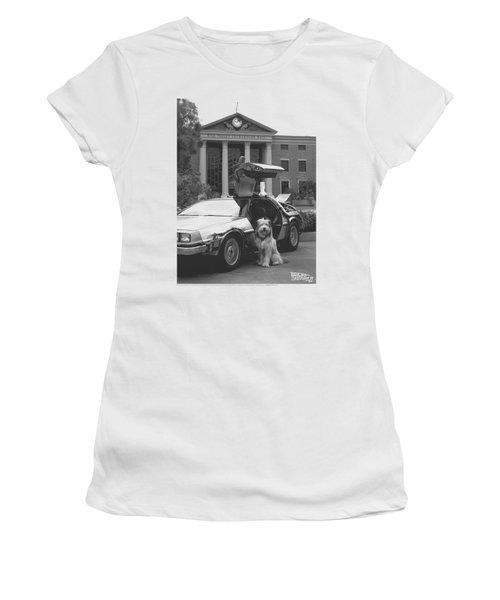 Back To The Future II - Einstein Women's T-Shirt
