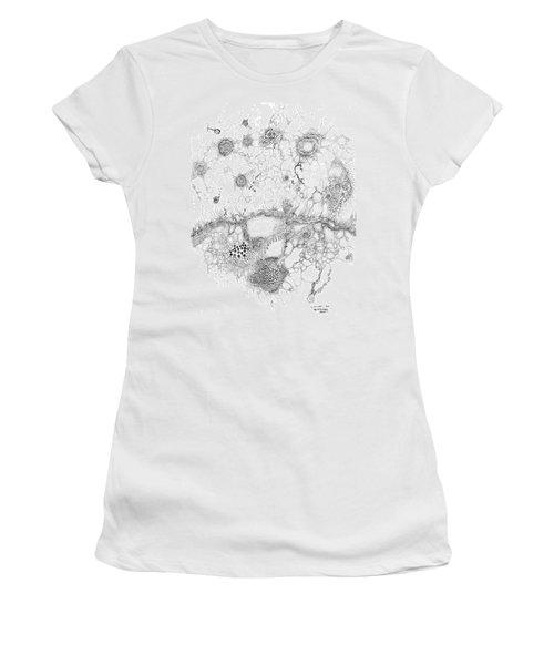 Bacteriophage Ballet Women's T-Shirt (Athletic Fit)