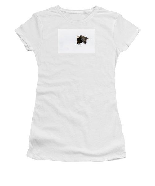 Bald Eagle 3 Women's T-Shirt (Athletic Fit)