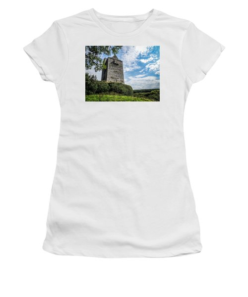 Ballinalacken Castle In Ireland's County Clare Women's T-Shirt