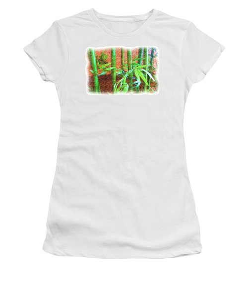Bamboo #1 Women's T-Shirt (Athletic Fit)
