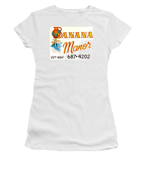 Banana Manor Women's T-Shirt (Athletic Fit)