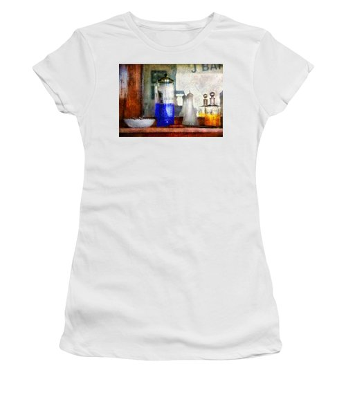 Barber - Blueberry Flavored Thanks For Asking Women's T-Shirt
