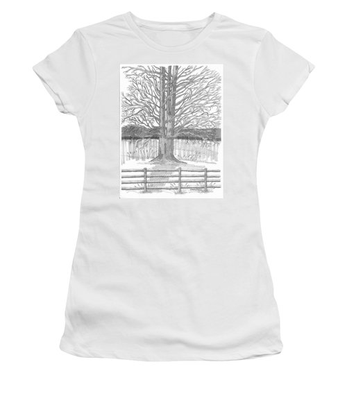 Barrytown Tree Women's T-Shirt