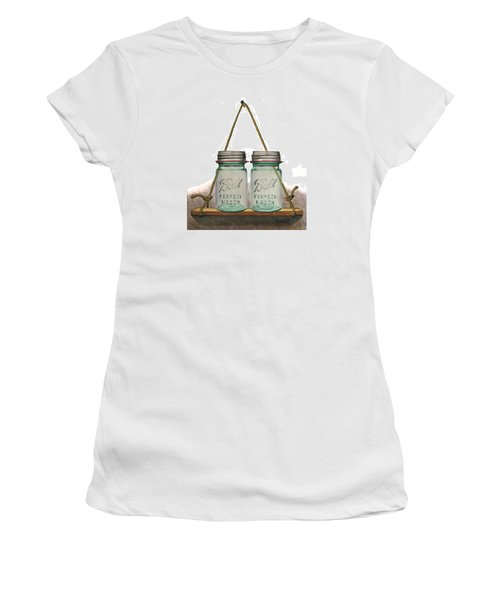 Balls To The Wall Women's T-Shirt (Junior Cut) by Ferrel Cordle