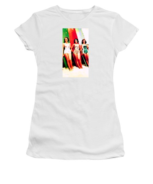 Bathing Beauties Women's T-Shirt (Athletic Fit)