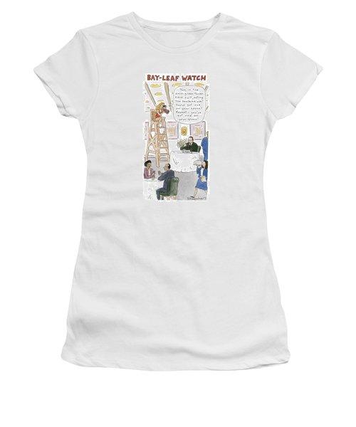 Bay-leaf Watch 'you Women's T-Shirt