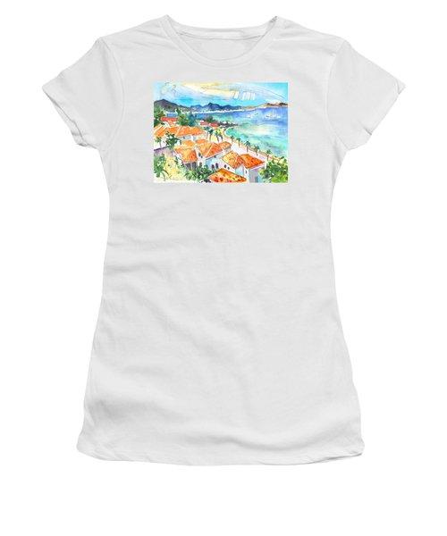 Bay Of Saint Martin Women's T-Shirt