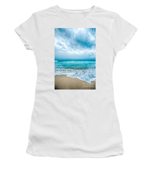 Beach And Waves Women's T-Shirt