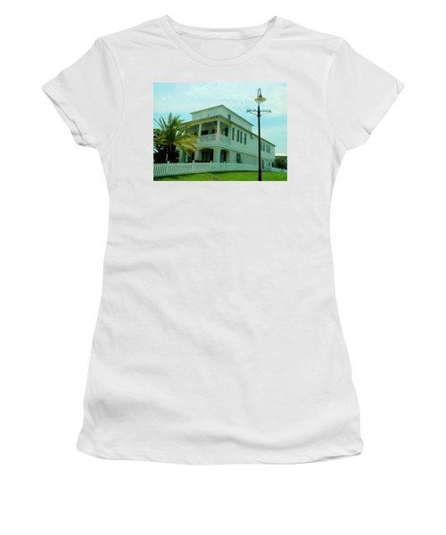 Beach House - Bay Saint Louis Mississippi Women's T-Shirt (Athletic Fit)