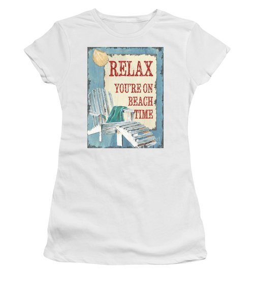 Beach Time 1 Women's T-Shirt
