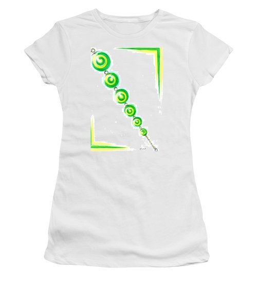 Beaded Chain Women's T-Shirt (Athletic Fit)