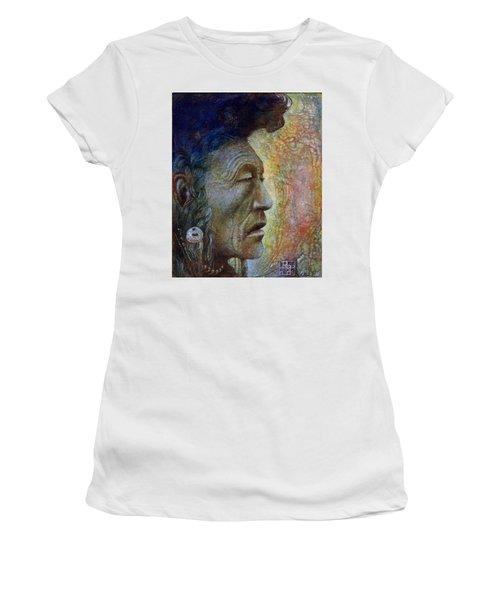 Bear Bull Shaman Women's T-Shirt (Athletic Fit)