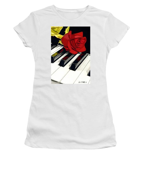 Beautiful Music Women's T-Shirt (Athletic Fit)