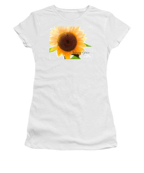 Bee Still Women's T-Shirt (Athletic Fit)