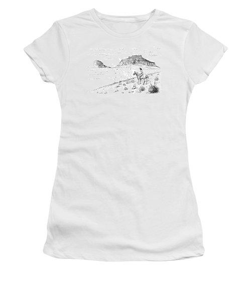 Open Prairie Overlook Women's T-Shirt