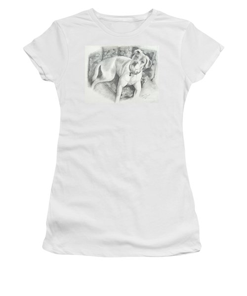 Bella My Pup Women's T-Shirt (Athletic Fit)