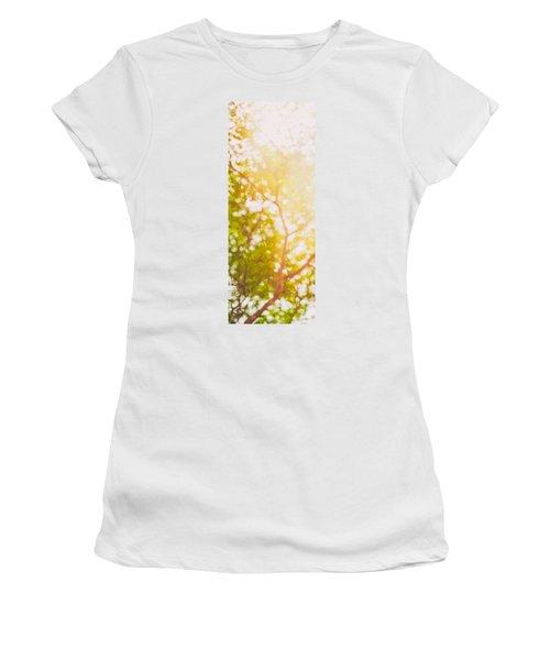 Beneath A Tree  14 5199   Diptych  Set 1 Of 2 Women's T-Shirt