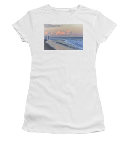 Better Days Ahead Seaside Heights Nj Women's T-Shirt (Athletic Fit)