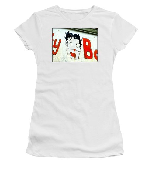 Betty Boop Herself Women's T-Shirt (Athletic Fit)