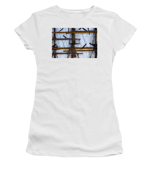 Between Masts And Ropes Women's T-Shirt