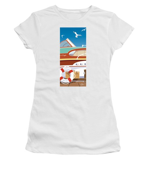 Beyond The Sea Women's T-Shirt (Athletic Fit)