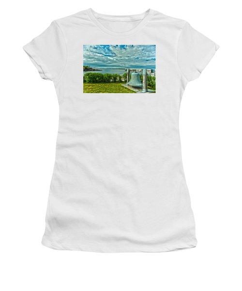 Biddeford Pool Bell Women's T-Shirt (Athletic Fit)