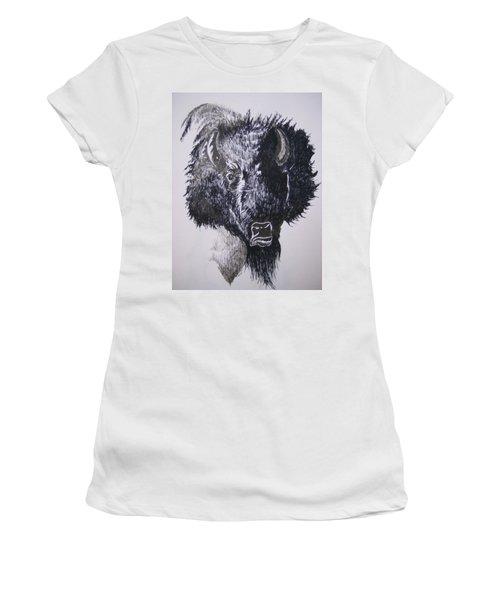 Big Bad Buffalo Women's T-Shirt (Athletic Fit)