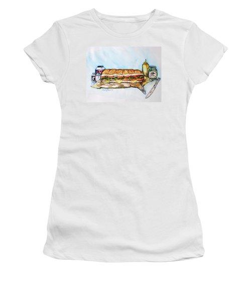 Big Ol Samich Women's T-Shirt (Athletic Fit)