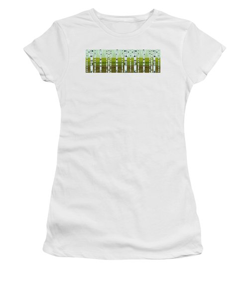 Birches In Summer Women's T-Shirt
