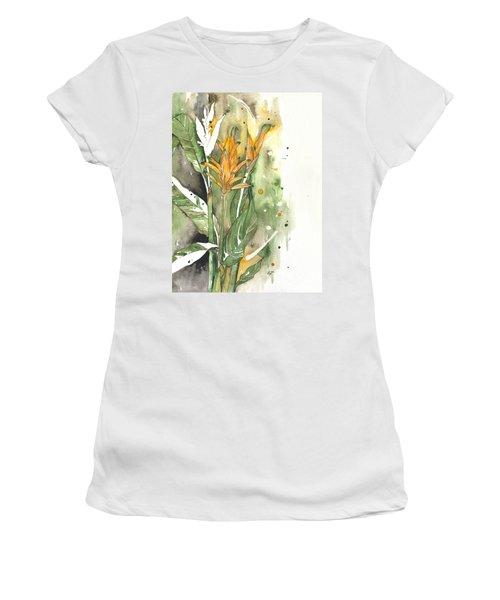 Bird Of Paradise 08 Elena Yakubovich  Women's T-Shirt (Athletic Fit)