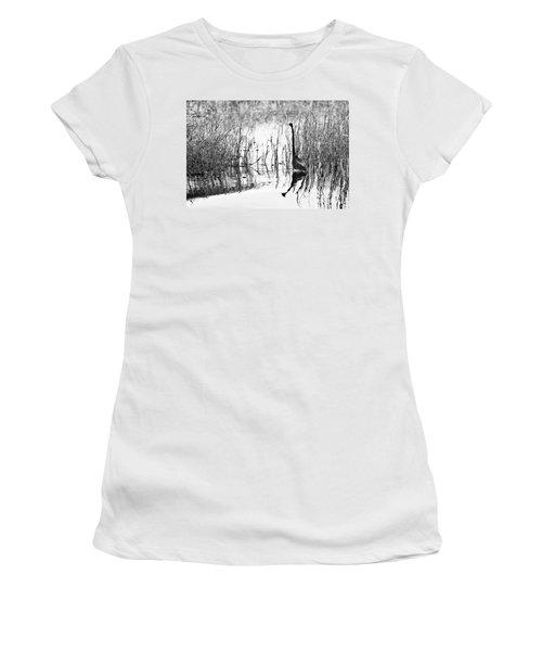 Blending In - Bw Women's T-Shirt