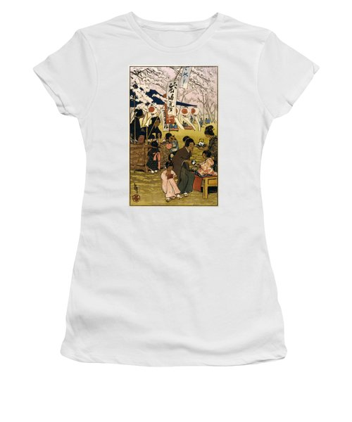 Blossom Time In Tokyo Women's T-Shirt